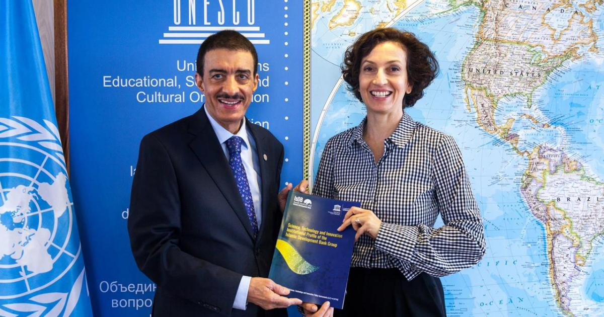 Islamic Development Bank and UNESCO strengthen cooperation to